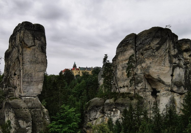 Hruba Skala at Bohemian Paradise, Czech Republic