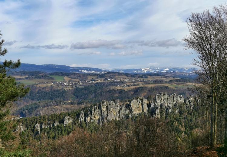 Mala Skala at Bohemian Paradise, Czech Republic