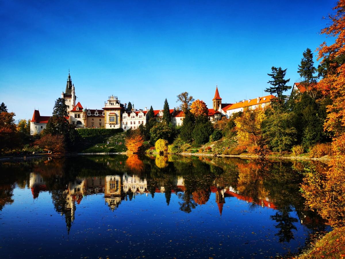 The Průhonice Castle