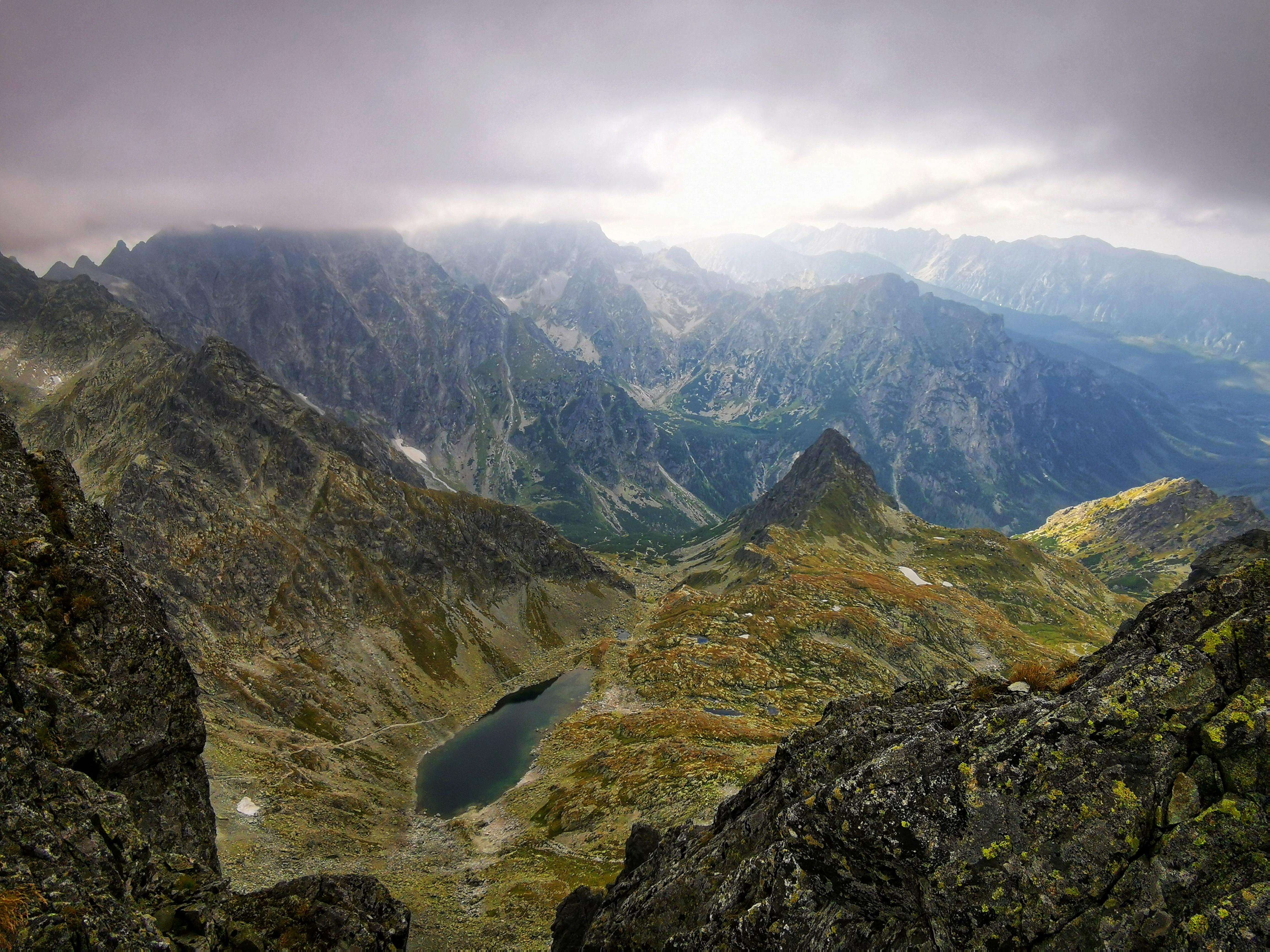 The view from Východná Vysoká.