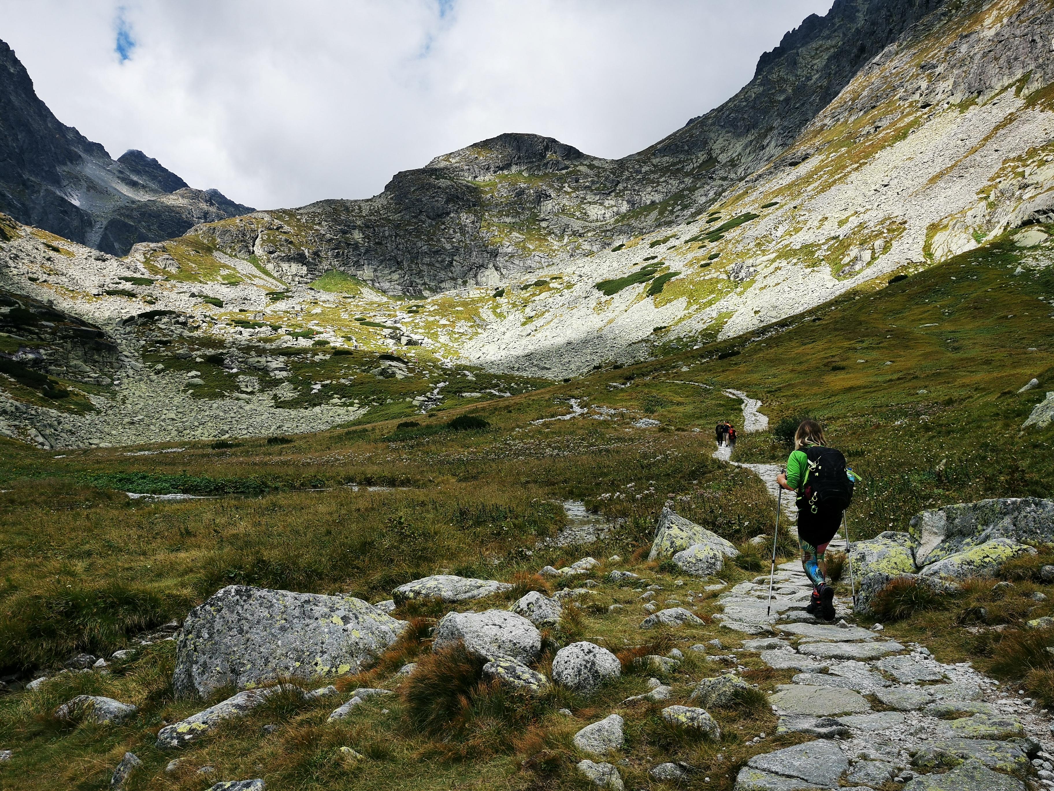 The valley of Velická dolina.