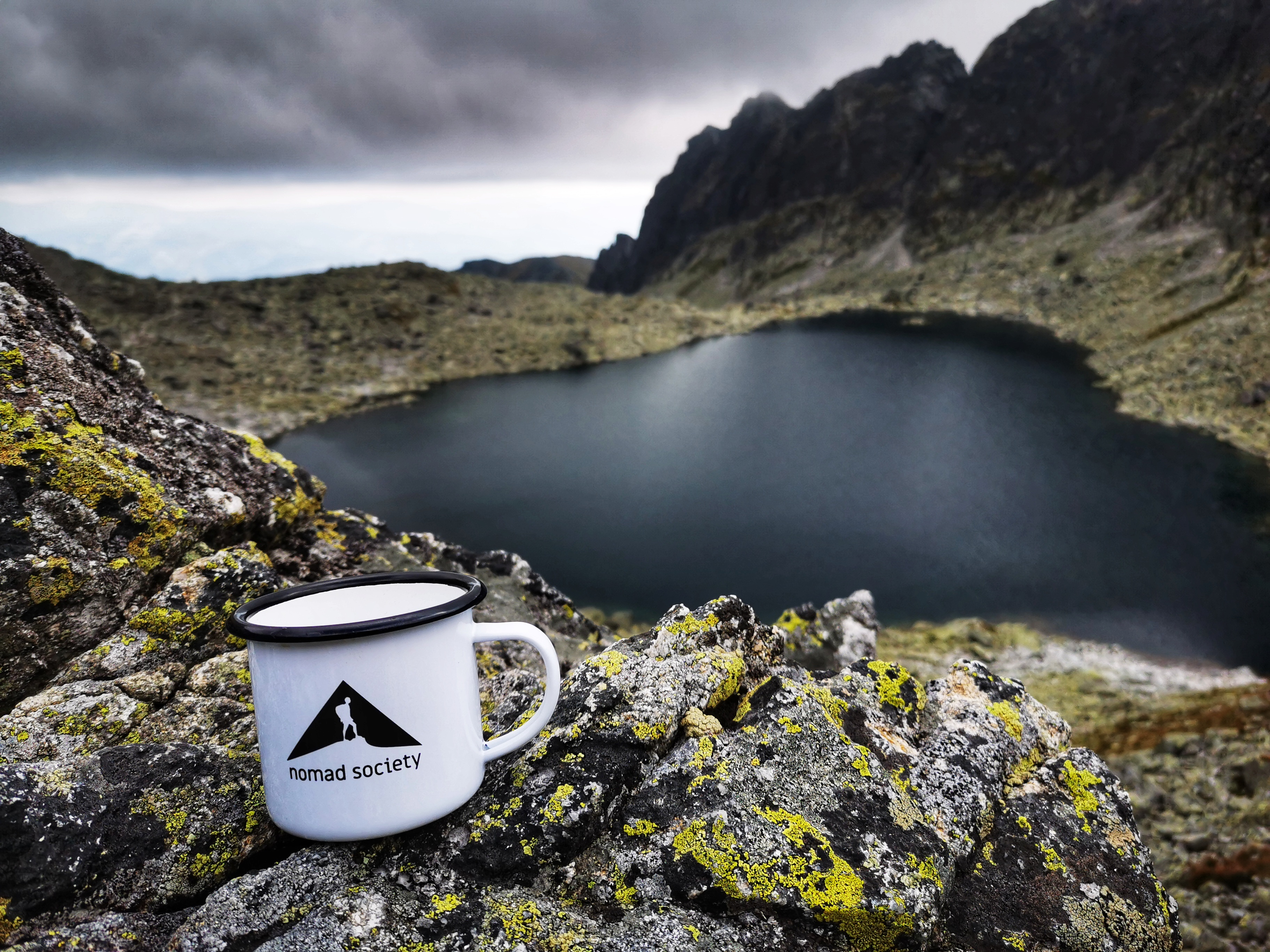 Nomad Society Mug is especially perfect for a hot morning tea or coffee, cold afternoon beer, or late evening shot of vodka, rum, gin… You can get one here: https://nomadsociety.cz/shop/.