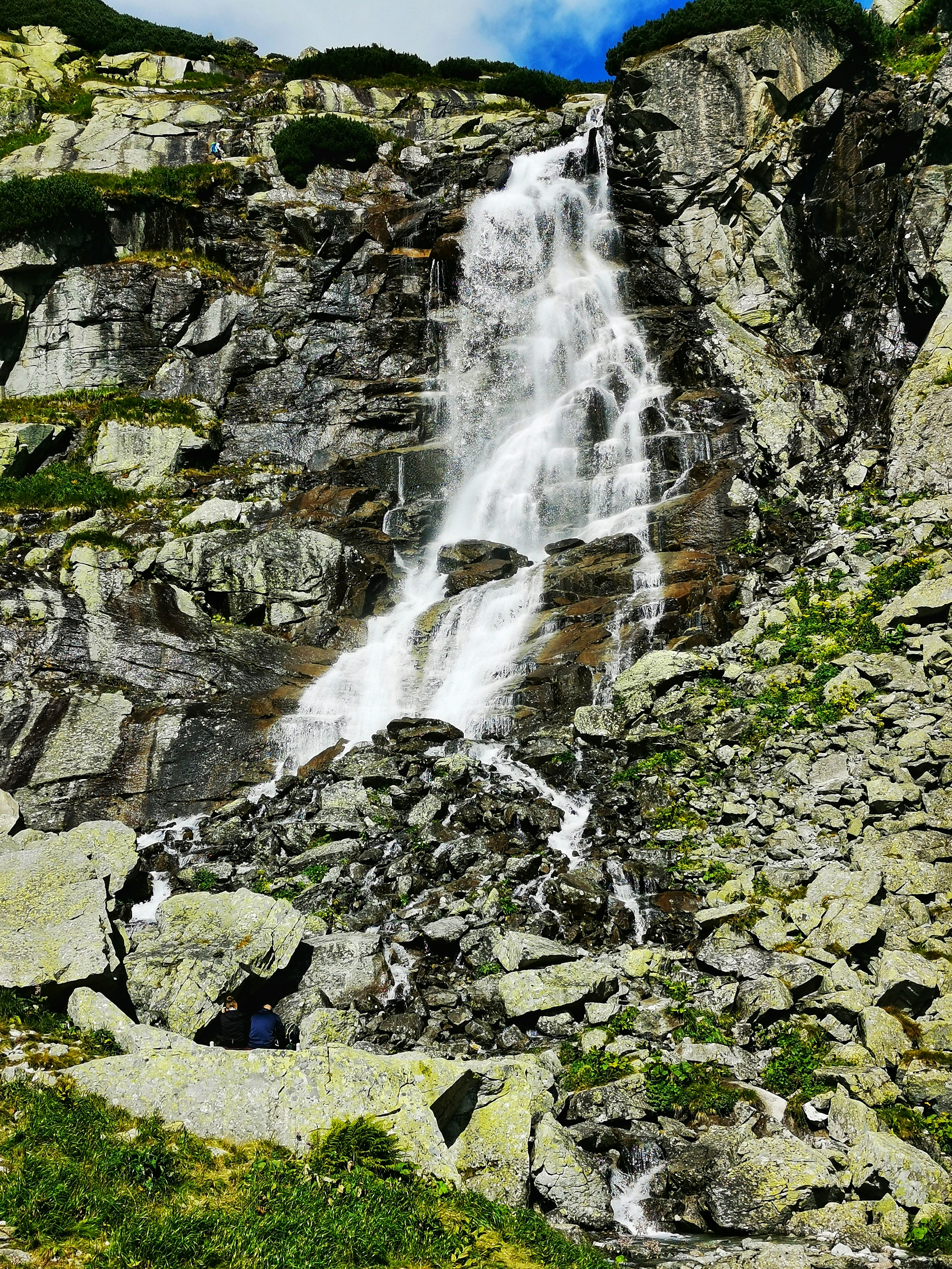 Walking through the peaceful valley of Mlynická dolina, you have an opportunity to admire the majestic Skok Waterfall.
